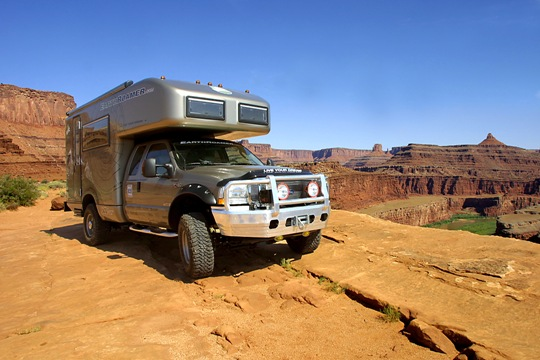 The 2015 EarthRoamer XV-LTS F-550 Off-Road RV