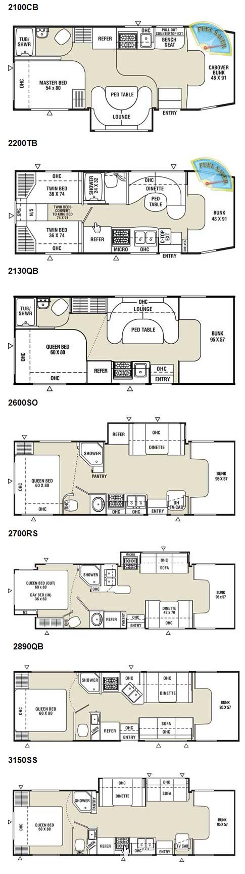 Itasca Sunrise Rv Floor Plans