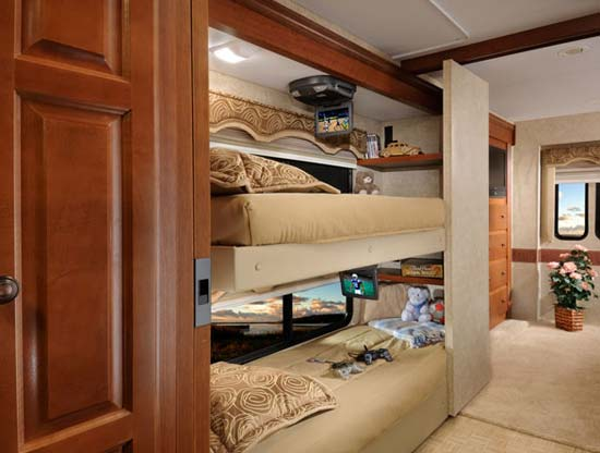Motorhome Bunk Beds With Unique Inspiration In Uk