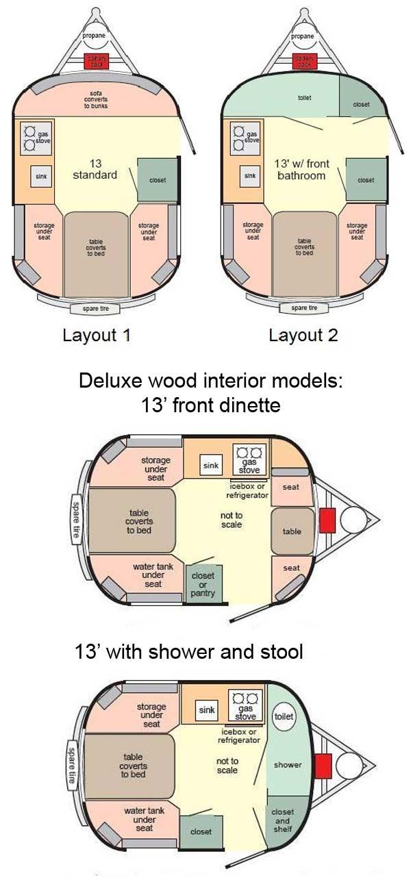 Scamp 13 39 travel trailer floorplans large picture for 12 foot travel trailer floor plans