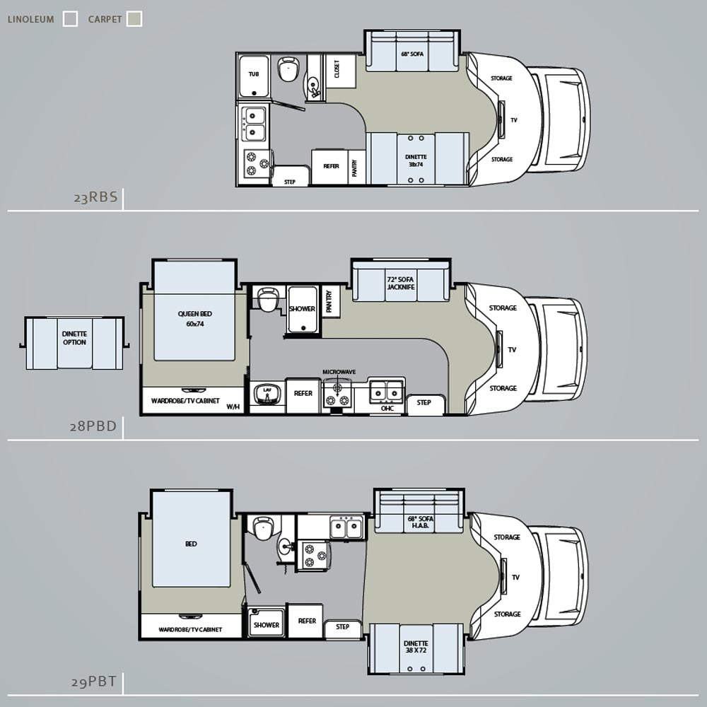 Chinook Rv Floor Plans