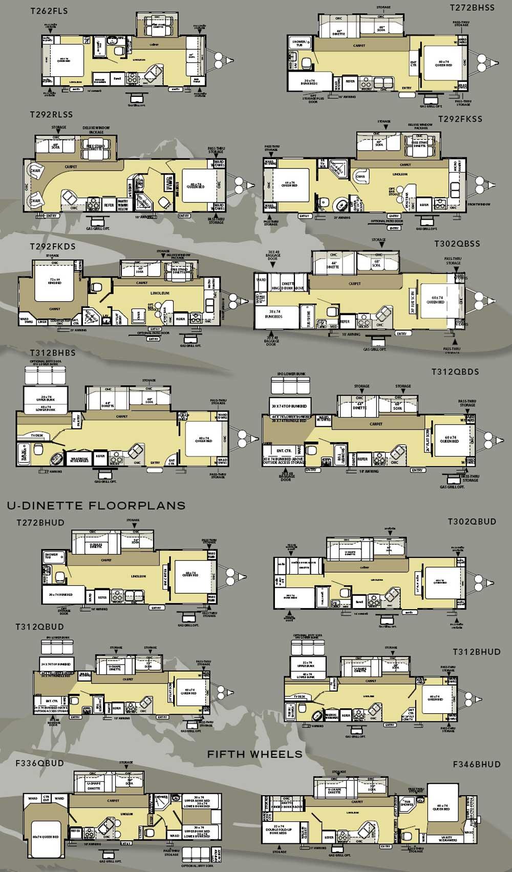 Salem Travel Trailer Floor Plans Home Flooring Ideas