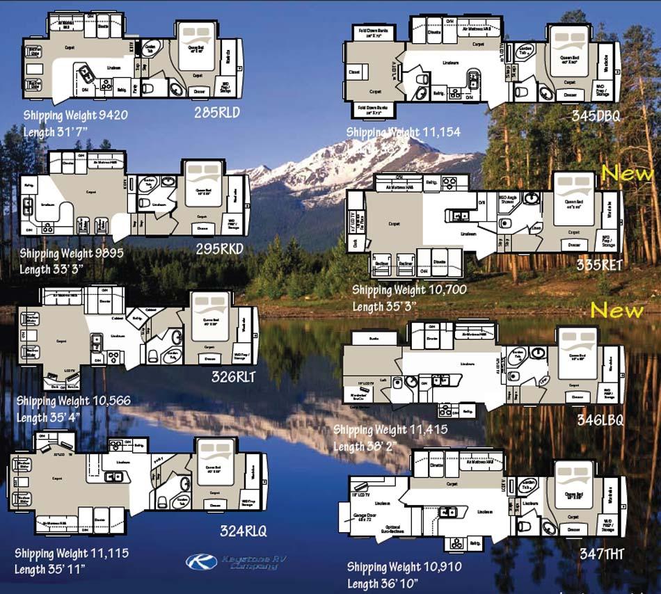 Grand Design Reflection 337rls Reviews >> 2015 Fifth Wheel Floorplans | Autos Post
