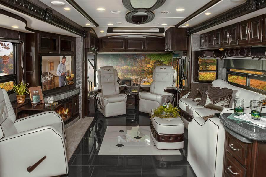 Grand tour interior