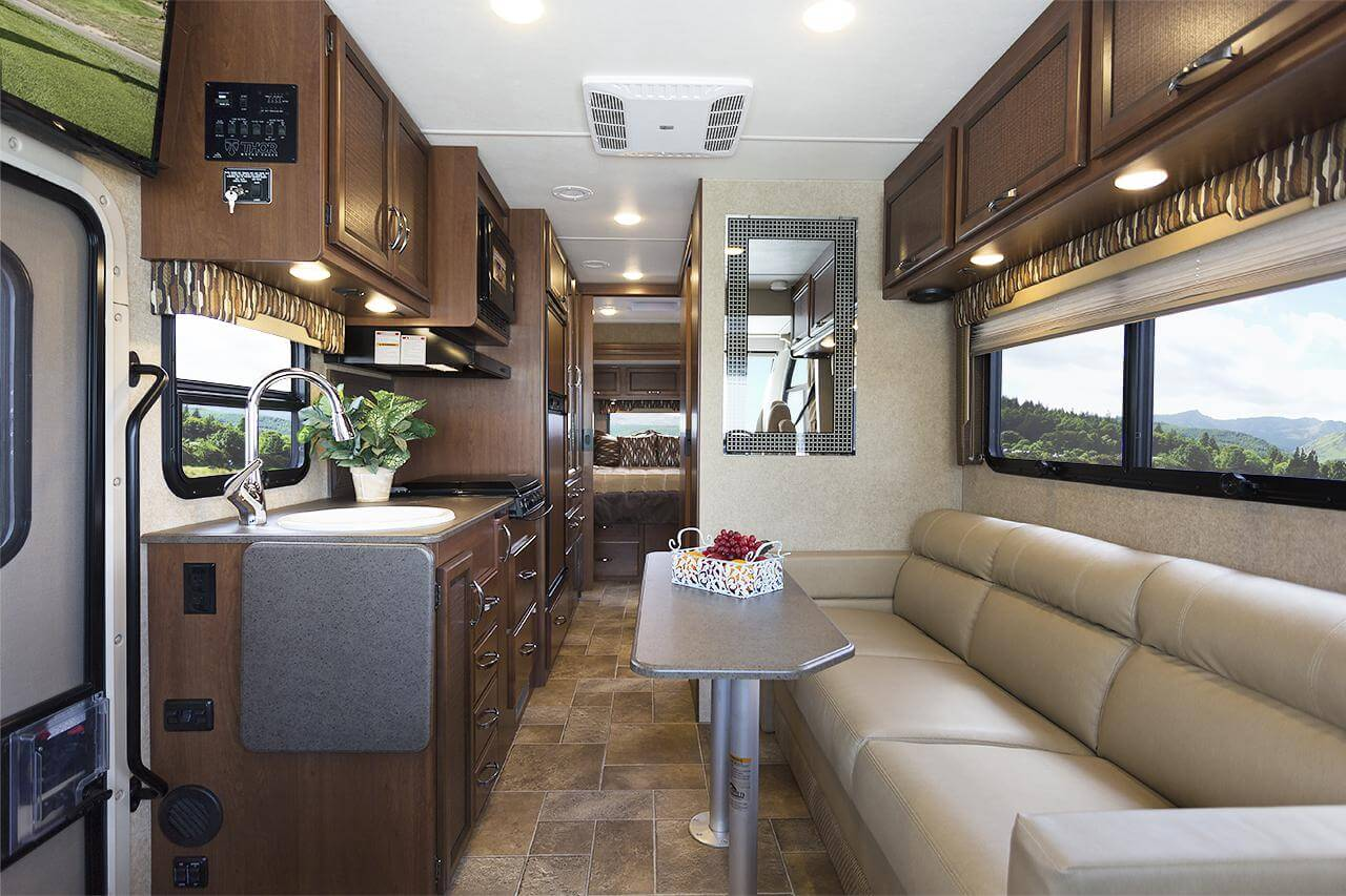 Convert Image To Floor Plan Thor 2016 Axis Ruv Class A Motorhome Roaming Times