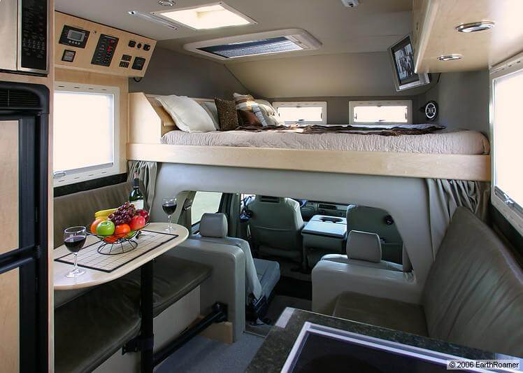 EarthRoamer XV LTS F 550 Off Road RV Roaming Times