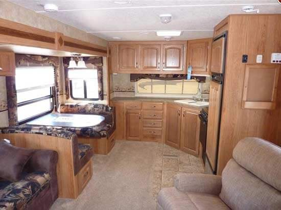 Motorhome Front Window Shades