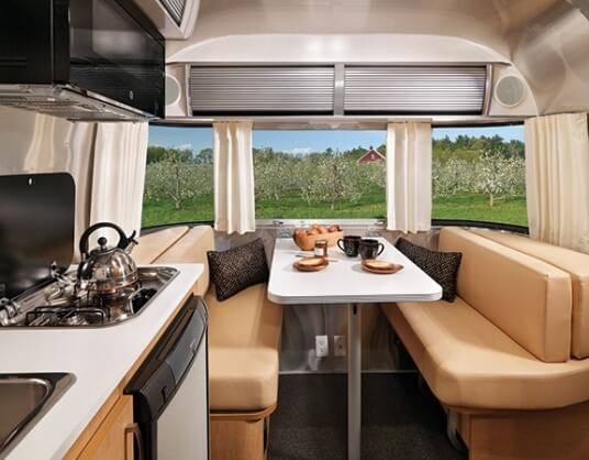 2015 Airstream Sport 16 Travel Trailer Interior Front