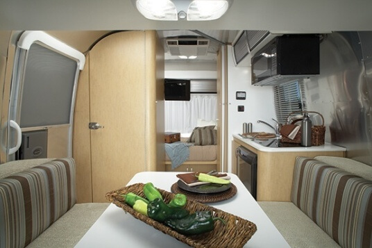 2015 Airstream Sport 16 Travel Trailer Interior