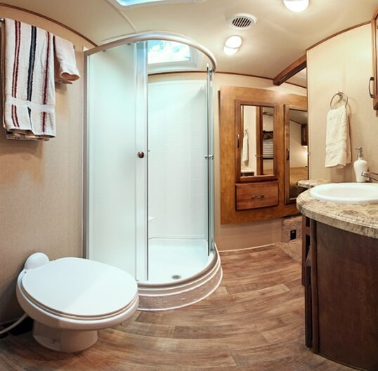 Wall mounted cabinet for bathroom - 2015 Grand Design Reflection 27rl Fifth Wheel Roaming Times