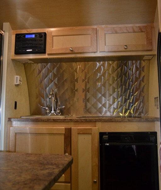 Floor Model Kitchen Cabinets For Sale: 2015 TAB (T@B) Teardrop Camping Trailer S-Floorplan