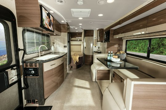 Luxury Winnebago Class C Motorhome Interior  Bing Images