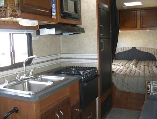 Popular RV Class C Motorhome Interior