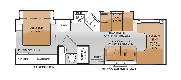 2015-thor-four-winds-29g-class-c-motorhome-floorplan