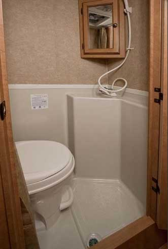 2011 Heartland Mpg Micro Lightweight Travel Trailer on designs of bathrooms for small spaces