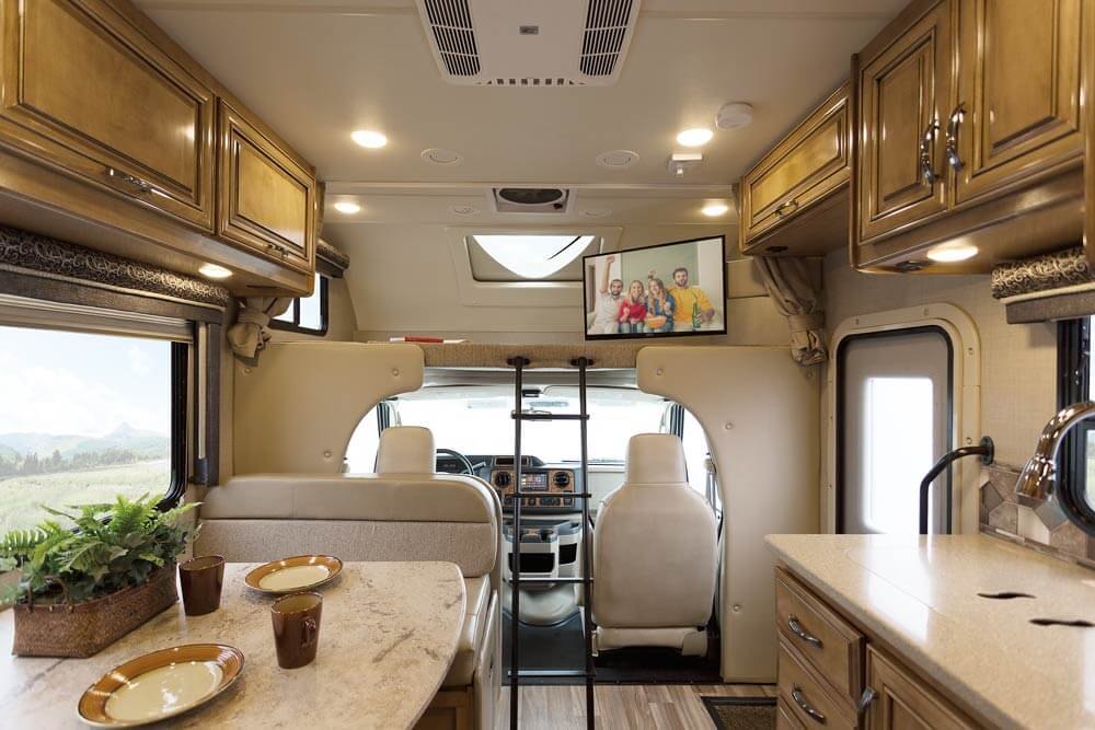 Thor Motor Coach Showcases Upscale Living In 2017 Class C Motorhomes on electric motor made easy