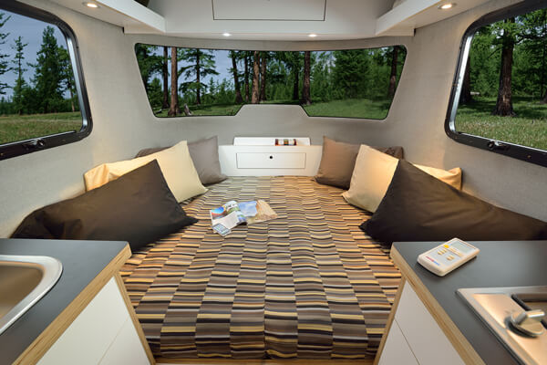 Airstream Bed Size
