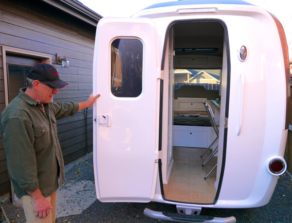 Lastest He Said Many People Are Downsizing Their Travel Trailers To Try And Reduce Fuel Costs To Meet This Market Demand, He Said, Nest Caravans Has Eliminated The Steel Framework Typically Found Under Other Trailers Nests Are Made To Order