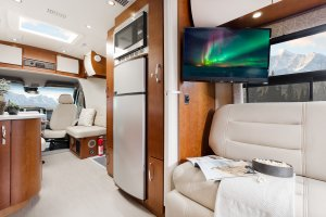 2017 Serenity Leisure Travel Van Class B Interior