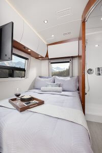 2017 Serenity Leisure Travel Van Class B Bedroom