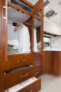 2017 Serenity Leisure Travel Van Class B Wardrobe Closet
