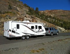 RV Rental Towing Fifth Wheel