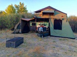 UGOAT Camper Travel Trailer Towable