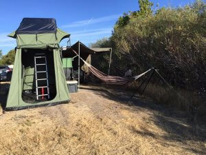 UGOAT View Open with Hammock Travel Trailer