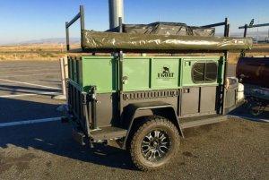 UPGOAT Aluminum Topper Camper Travel Trailer