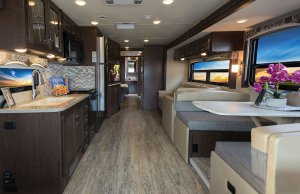 2017 Thor Hurricane 35M Interior Living Area