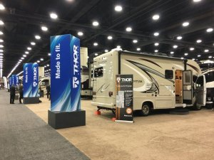 Thor Motorhome RVIA Display