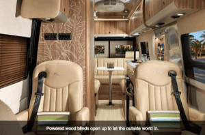 2017 Airstream Tommy Bahama Interstate Touring Coach Cab view