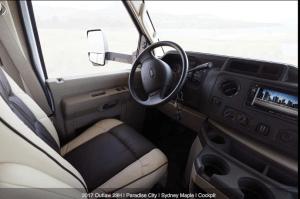 2017 Outlaw 29H Cab Cockpit