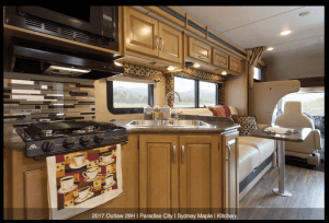 2017 Outlaw 29H Sydney Maple Kitchen