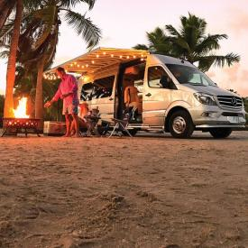 2017 Airstream Tommy Bahama Class B Travel Trailer