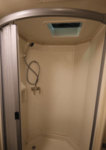 Winnebago shower