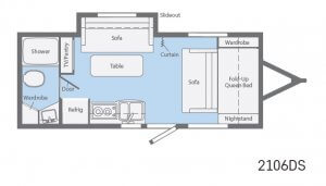 Winnebago Micro Mini Floorplans