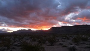 Mojave National Preserve Sunset