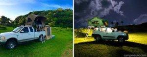 Truck Camping On Road to Hana Hawaii
