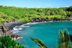 Waianapanapa State Park East Maui