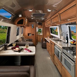 2017 Airstream Classic 30 Interior