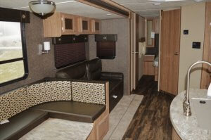 2017 Shasta 33BH Interior Living Room