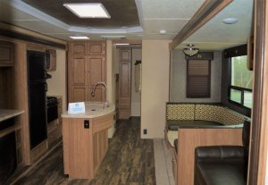 2017 Shasta 33BH Interior Living Room And Kitchen