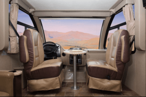 2018 Thor Vegas 24.1 Cab Area View
