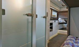 Action Mobil Globecruiser 7500 Hallway Kitchen View
