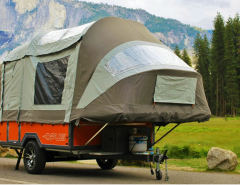 Opus Air Poleless Inflated Travel Trailer Exterior