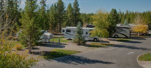 Yellowstone Grizzly RV Park Camping Sites