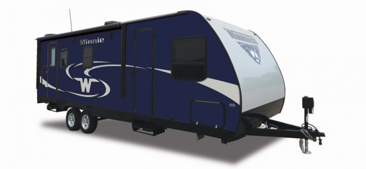 Winnebago 2017 Minnie 2500FL Blue