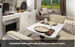 2017 Airstream Sport 16 Living Area