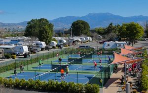 RVs And Tennis Courts